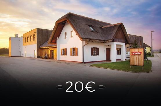 VREDNOSTNI BON - 20 €