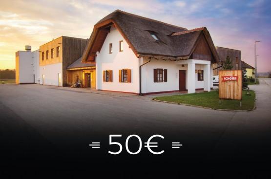VREDNOSTNI BON - 50 €